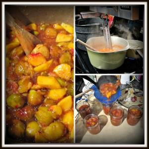 Peach Fig jam