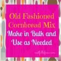Corn Bread Mix