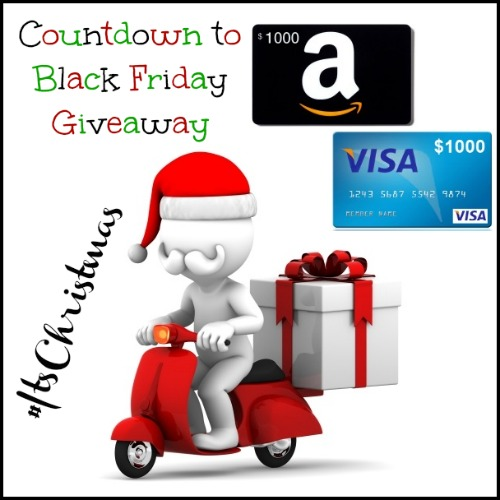 Black Friday Countdown Giveaway