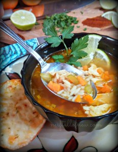 Simple and Yummy Chicken and Rice Soup