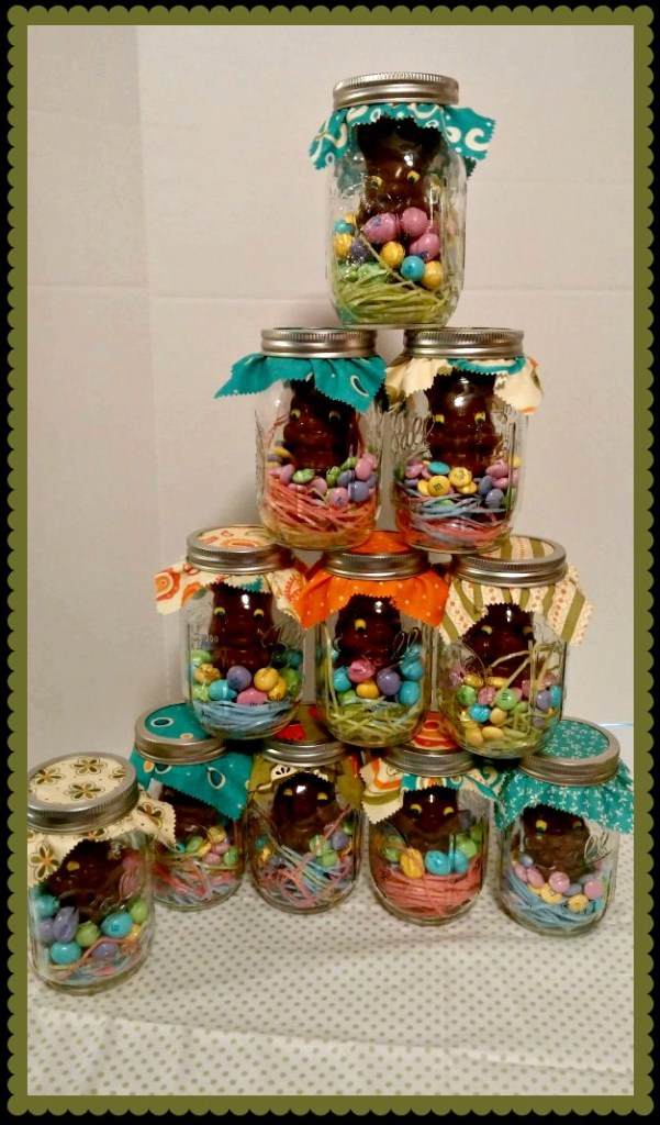 Easy Mason Jar Craft - Easter 12