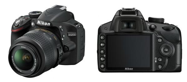 Nikon D3200 24.2 MP DSLR camera