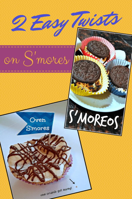 2 Easy Twists on Smores