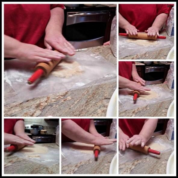Cobbler Crust Rolling