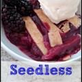 Seedless Blackberry Cobbler