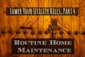 Lower Utilities 4.Maintenance
