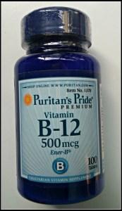 Puritans Pride B12
