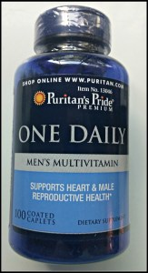 Puritans Pride Mens Multi