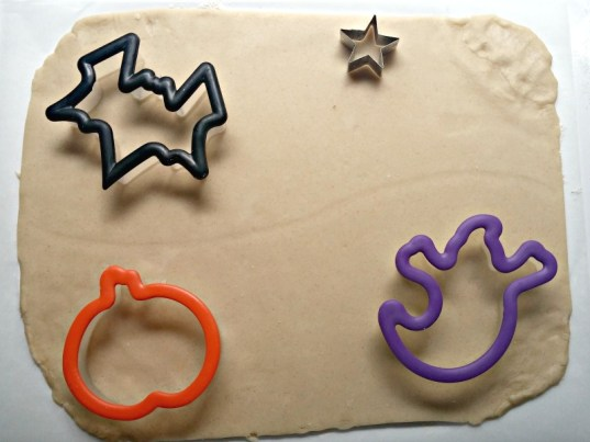 place cookie cutters