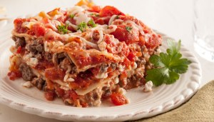 Simple All-In-One Skinny Lasagna