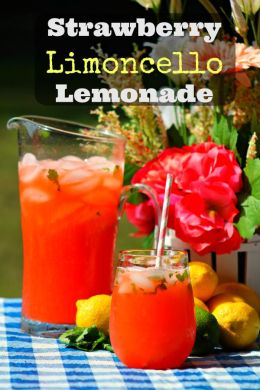Strawberry Limoncello Lemonade 1