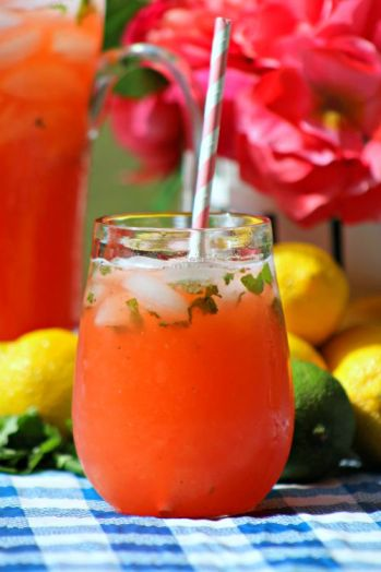 Strawberry Limoncello Lemonade 2