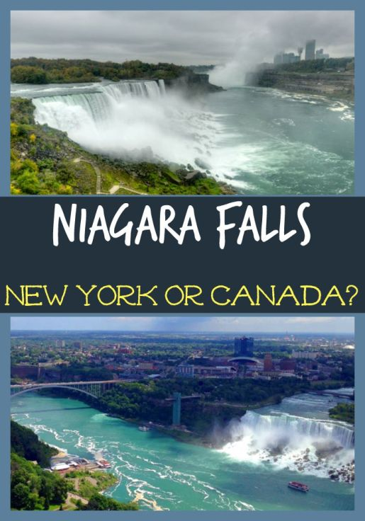 Niagara Falls New York or Canada