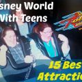 Disney World With Teens