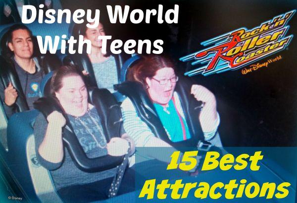 Disney World With Teens