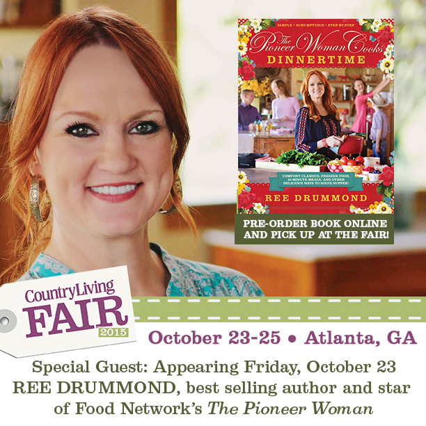 Country Living Fair - Atlanta - Ree