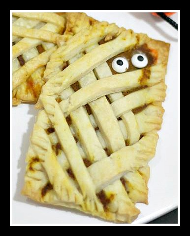 Yummy Mummy Pop Tart - simple recipe, so cute!