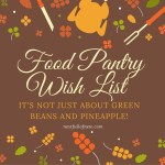 Best things to donate to a food pantry.