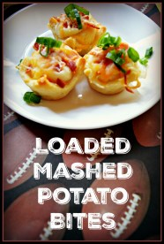 Loaded Mashed Potato Bite