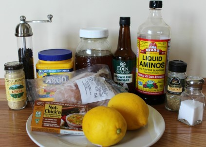 Honey Lemon Chicken ingredients