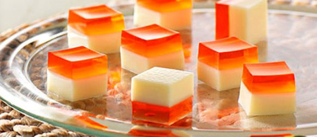 Peaches n Cream Jello