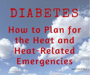 Diabetes Heat Emergency