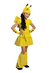 Girl's Pikachu Dress Costume