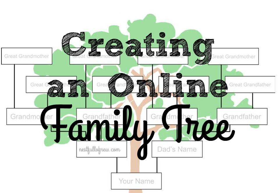 family tree chart online