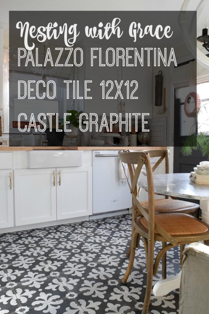 Palazzo Florentina Deco Tile