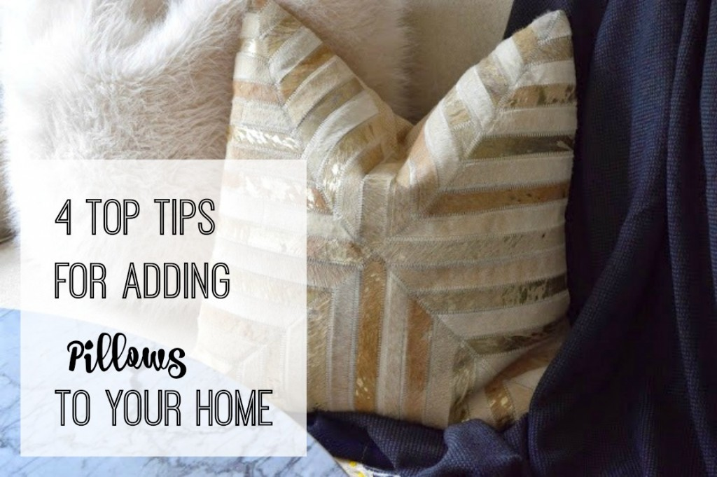 top tips for adding pillows