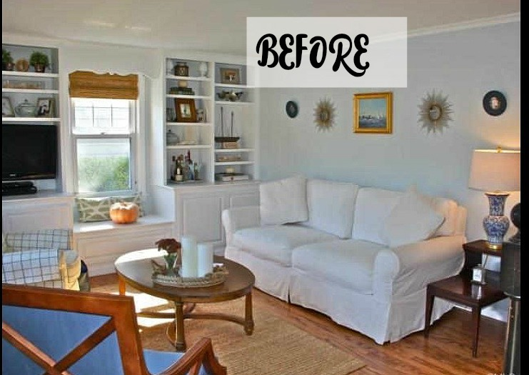 beach house before and after