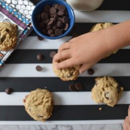 Award Winning Honey and Oatmeal Chocolate Chip Cookies