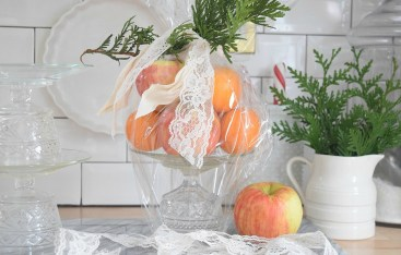 Easy DIY Gift Idea- Glass Cake Pedestals
