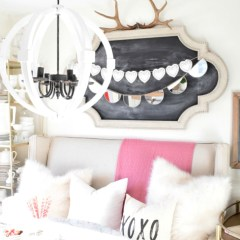 Valentines Decor, Cards and Enter to Win