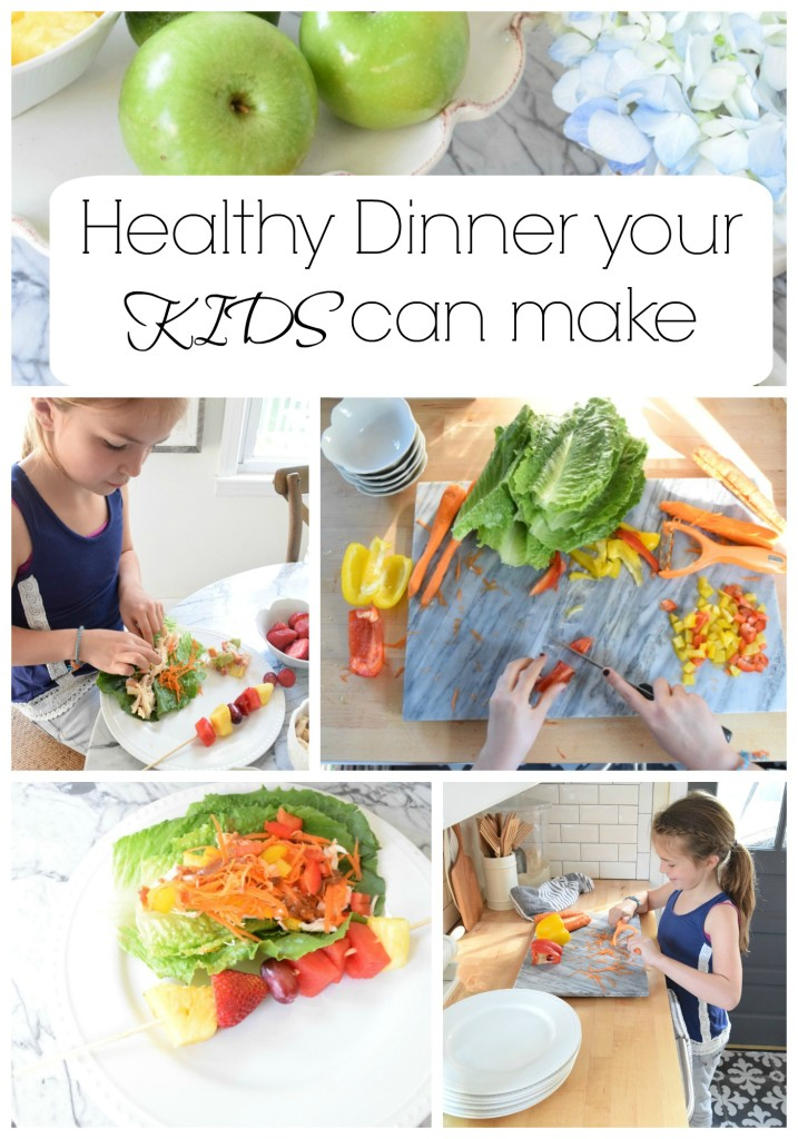 Healthy Dinner your kids can make
