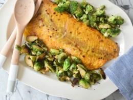 Favorite Healthy Dinner Mustard Salmon Recipe