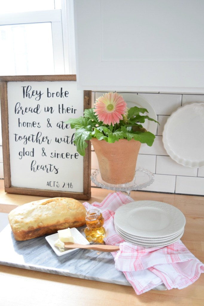 homemade bread and mothers day gift ideas