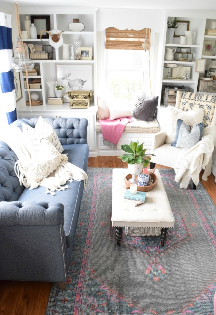 living room DIY and art from deannart