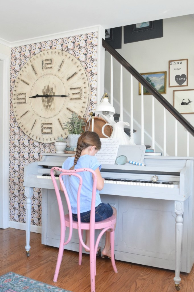 Summer Home Tour with Country Living and wallpaper updates