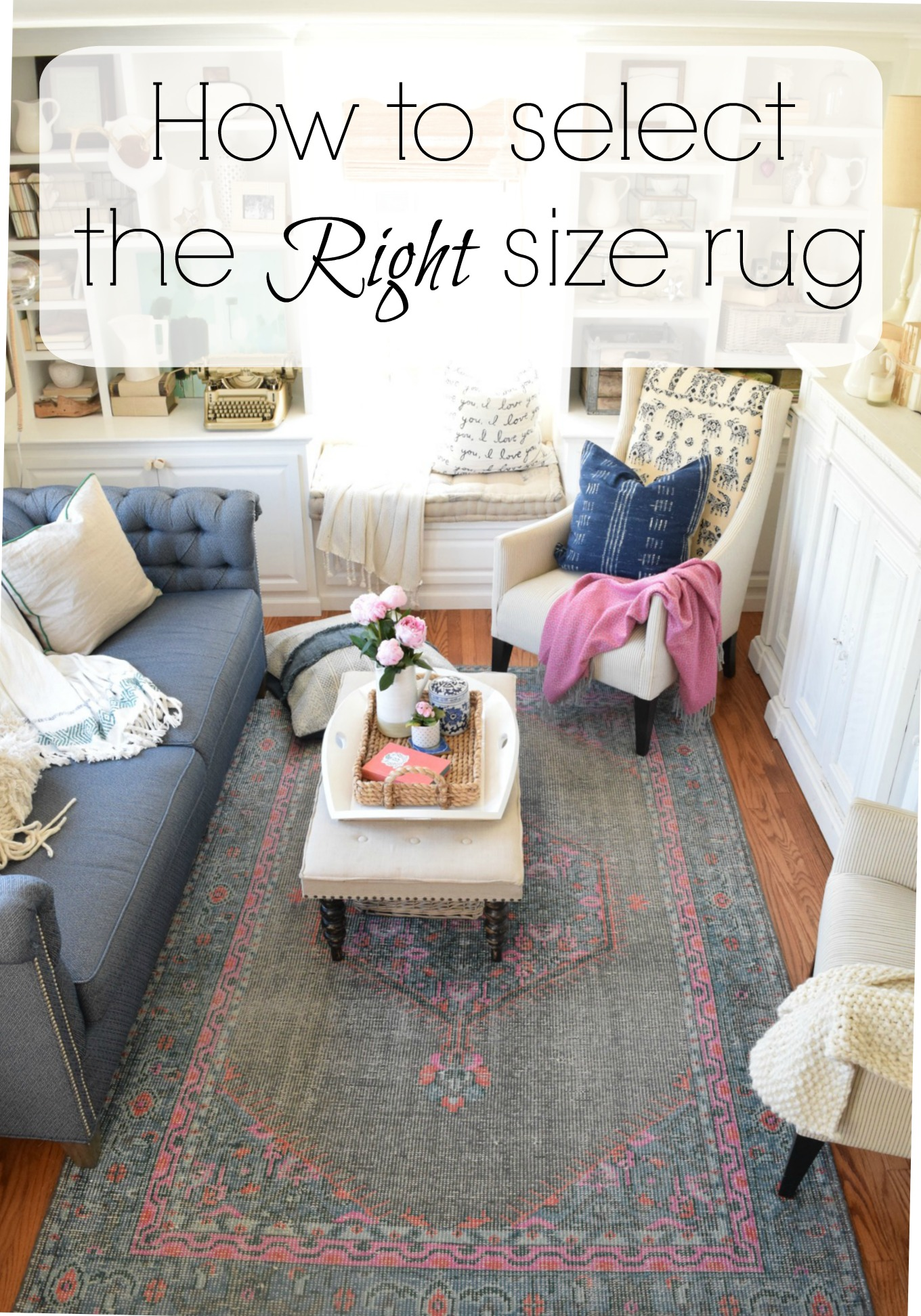 What I learned from HGVT Joanna Gaines on picking the right size rug