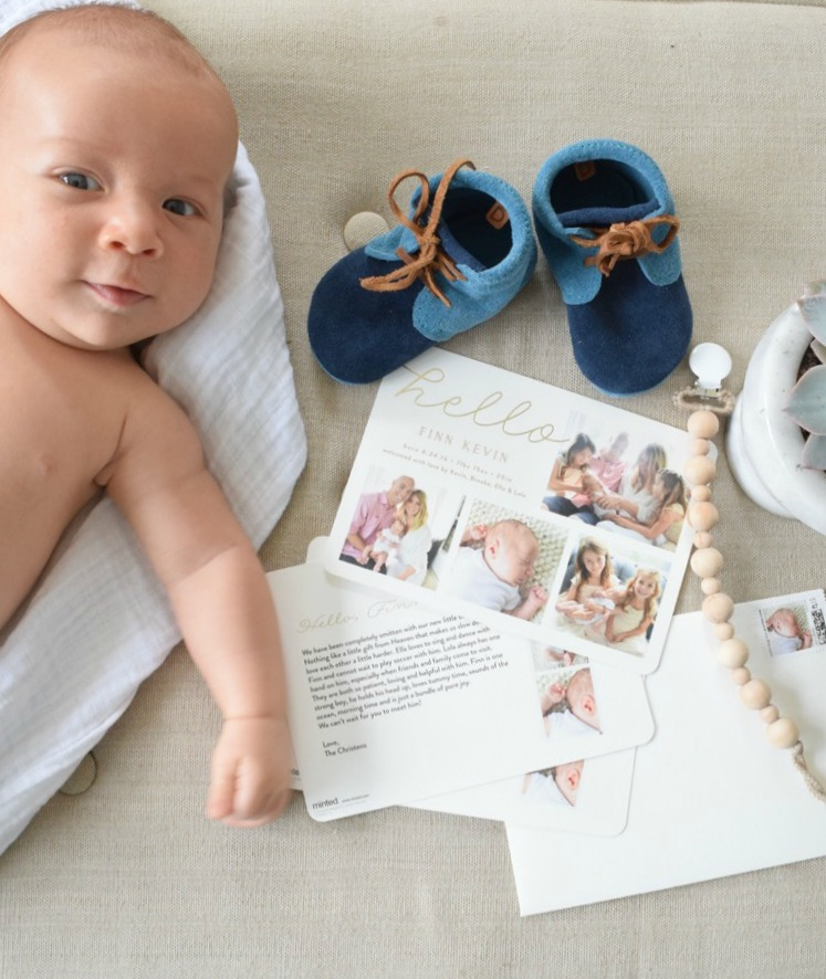 Baby Birth Announcement Ideas