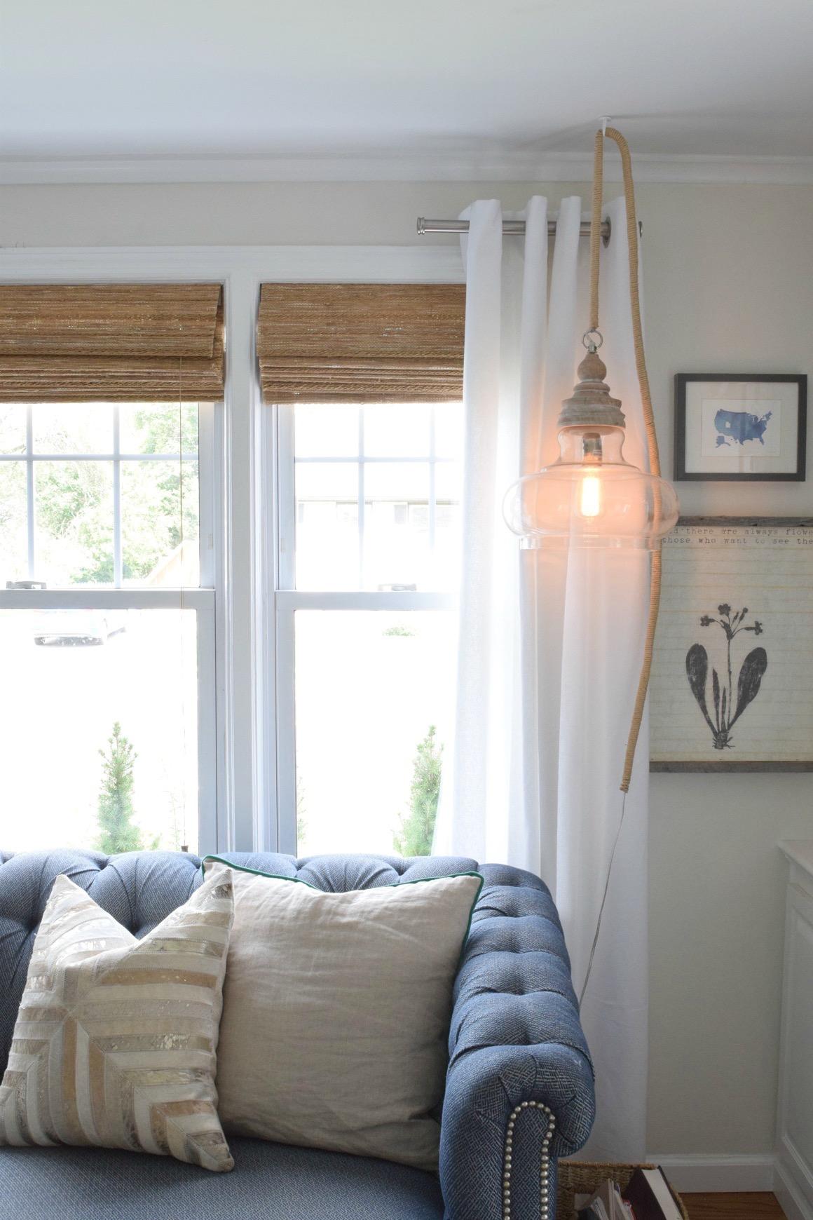 Hanging Pendant Light Diy Nesting With Gracerhnestingwithgrace: Hanging Lights For Bedroom Plug In At Home Improvement Advice