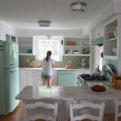 Beach House Tour and Retro Kitchen