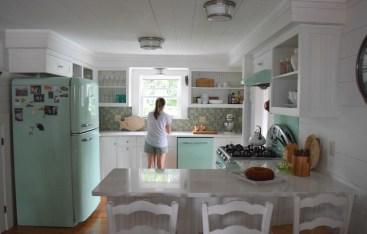 Connecticut Beach House Tour and Retro Kitchen