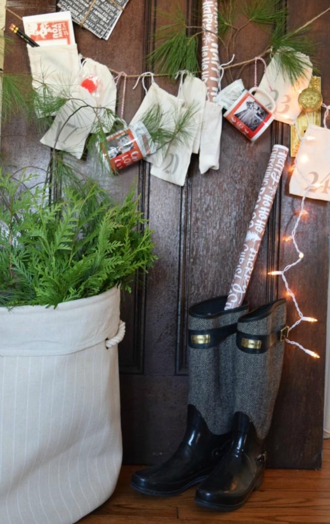 Countdown to Christmas Calendar DIY Idea