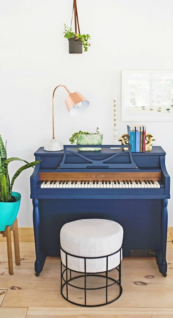 Trendy Home Decor- That Will Last- Painted Piano's