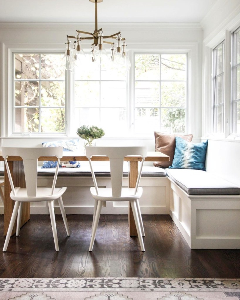 Friday Favorites- Banquette Style Seating