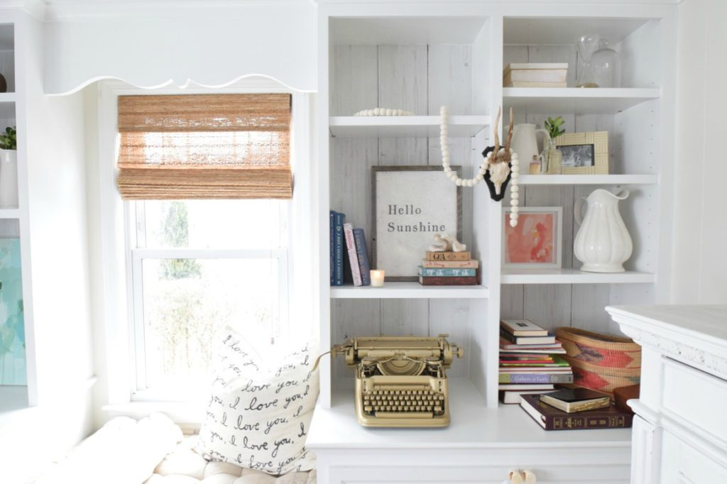 Bookcase Styling Tips- What I learned from a rude comment on Facebook