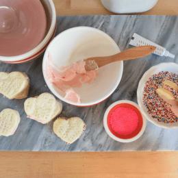Valentine Day Cookies- Swedish Cream Wafer Recipe
