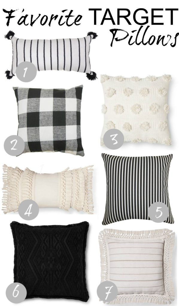Friday Favorites- Target Pillows- Great Prices!